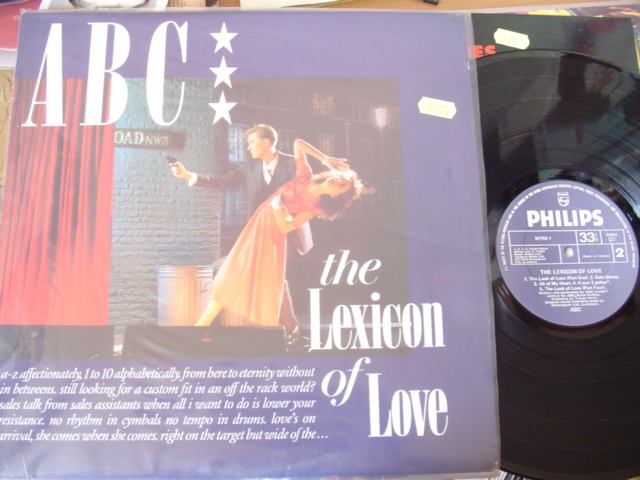 ABC - LEXICON OF LOVE - PHILIPS IRISH PRESS