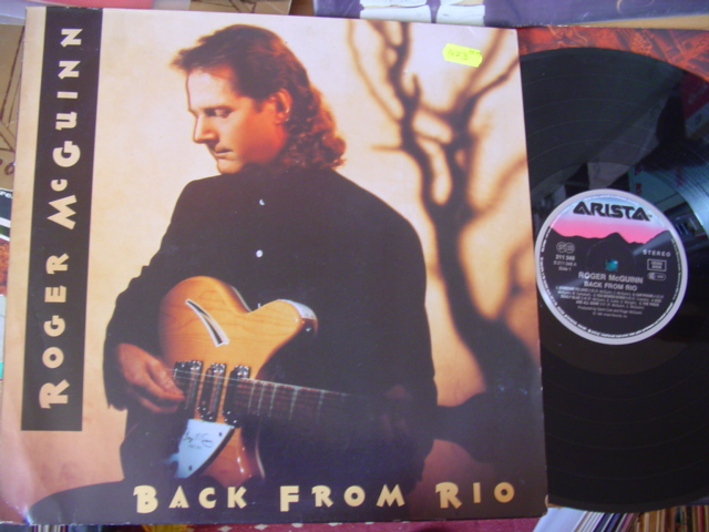 ROGER McGUINN - BACK FROM RIO - ARISTA