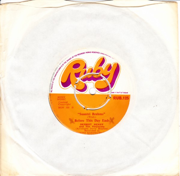 RUB 125 - Dermot Henry - Whats the reason Daddy - 1971