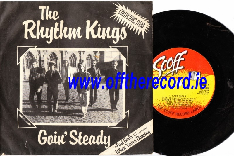 THE RHYTHM KINGS - GOIN' STEADY - SCOFF 008