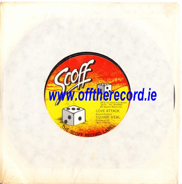 SQUARE MEAL - HOLD ON / LOVE ATTACK - SCOFF 01