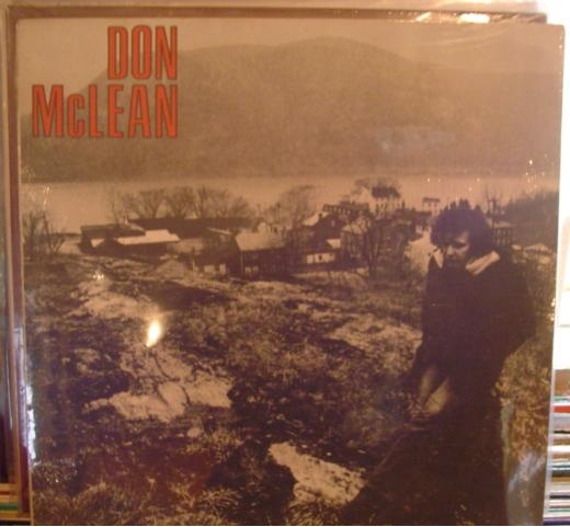 Don McLean - Self Title - United Artists 1972 - Sealed