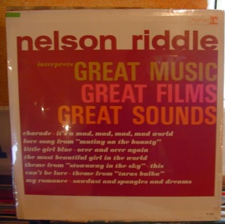 Nelson Riddle - Great Music Great Films - Reprise Mono - Sealed
