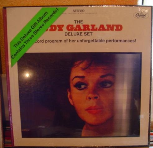 Judy Garland - Deluxe Set - Capitol 3 LP Boxset - Sealed 1968
