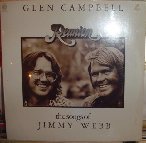 Glen Campbell - Reunion - Jimmy Webb - Capitol Sealed 1974
