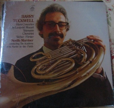 Barry Tuckwell - Horn Concertos - Angel Records Sealed 1974