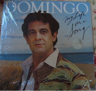 Placido Domingo - My life for a song - CBS USA - sealed 1981