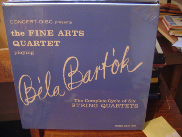 SEALED - BARTOK COMPLETE QUARTETS 3 DISC [ 115