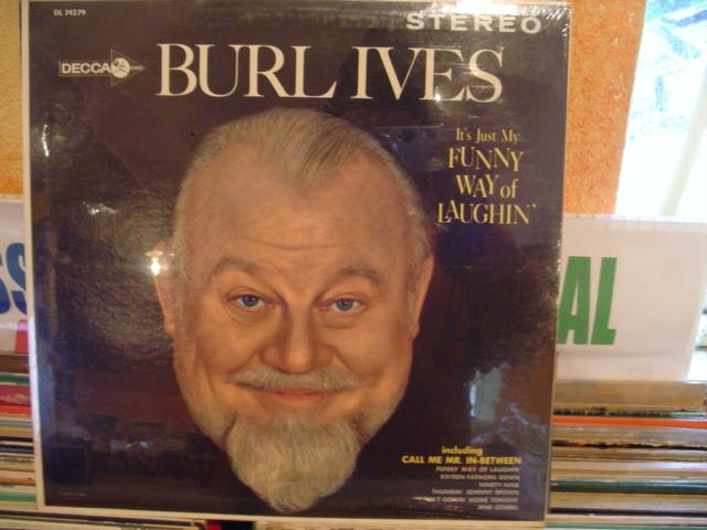 BURL IVES - FUNNY WAY OF LAUGHING - DECCA 1962 Sealed