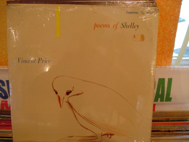 SEALED - VINCENT PRICE / POEMS OF SHELLEY / CADEMON[ 278