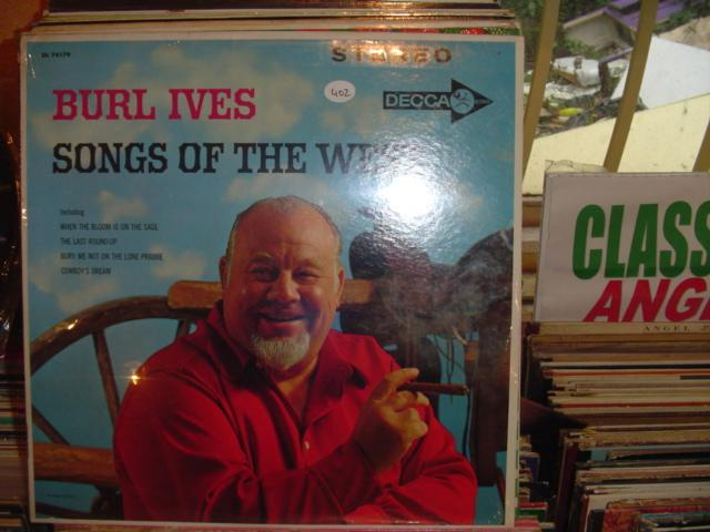 BURL IVES - SONGS OF THE WEST DECCA / 402