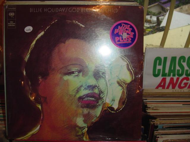 BILLIE HOLIDAY - GOD BLESS CHILD 2 LP COLUMBIA / 406