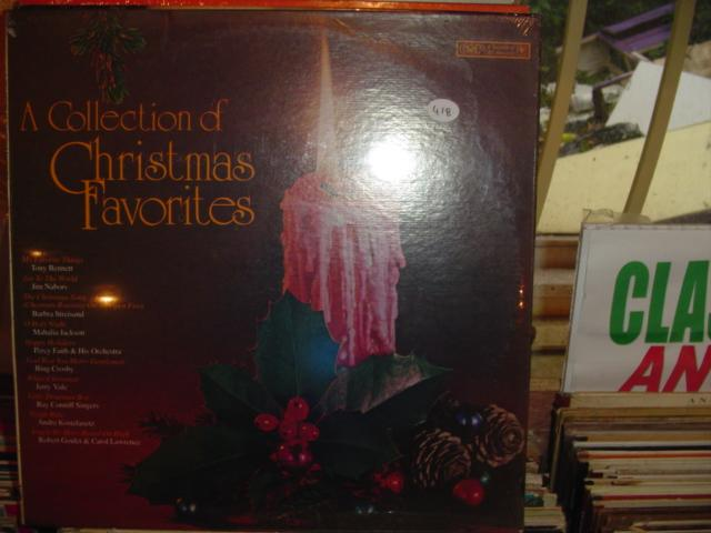 SEALED - VARIOUS CHRISTMAS FAVOURITES CBS / 418