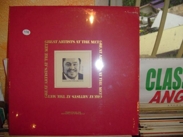 Pavarotti - Great artist at the Met - RCA - sealed 1970s