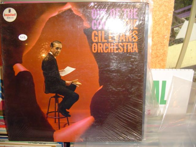 SEALED - GIL EVANS OUT OF BLUE IMPULSE MONO / 443