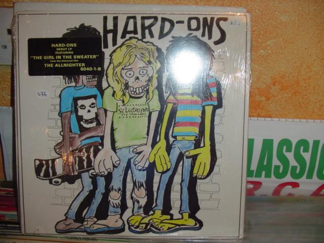 SEALED - PUNK / THE HARD- ONS BIGTIME 476