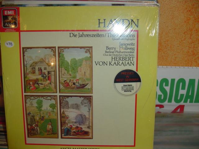 Haydn - The Seasons Highlights - Van Karajan EMI Sealed