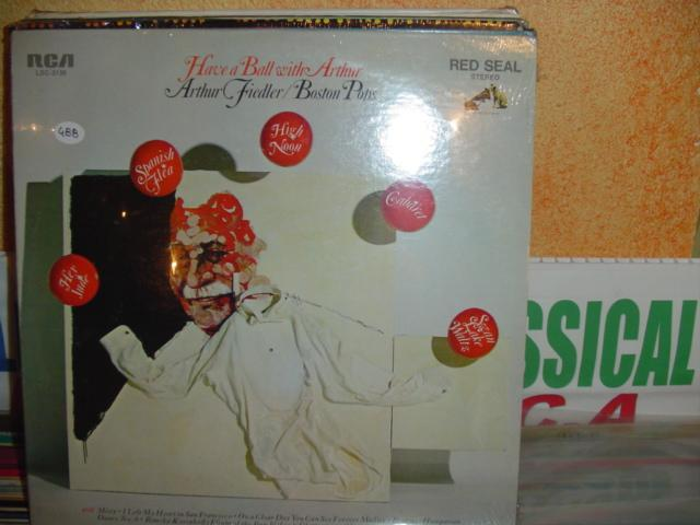 Arthur Fiedler - Have a Ball with Arthur - RCA - sealed 1970