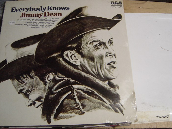 Jimmy Dean - Everybody Knows - RCA - Sealed 1971