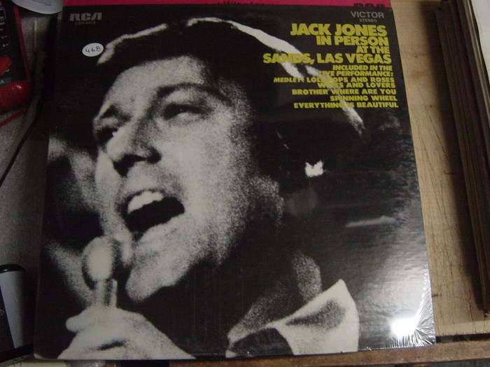 JACK JONES - SANDS LAS VEGAS RCA SEALED / 468