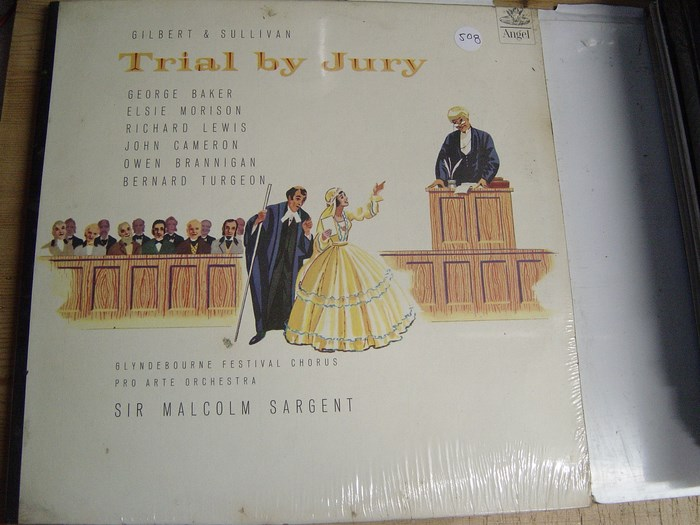Gilbert & Sullivan - Trail by Jury - Malcolm Sargent - Angel