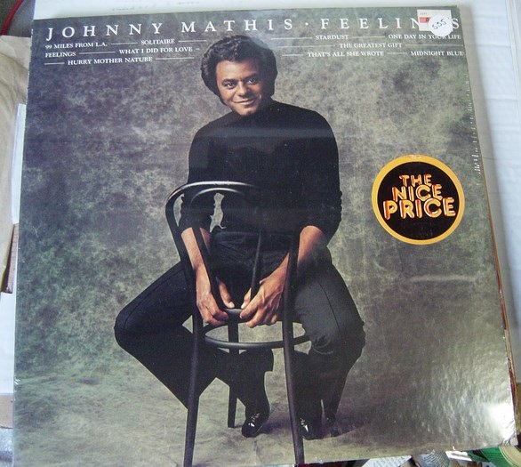 Johnny Mathis - Feelings - Columbia - Sealed 1975 USA