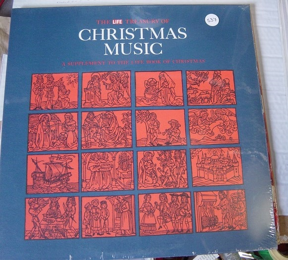 Various ‎– The Life Treasury Of Christmas Music - Sealed