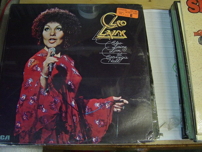 Cleo Laine - Live Carnegie Hall - RCA - Sealed 1974