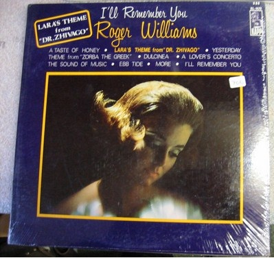 Roger Williams - I'll remember you - Kapp Mono - Sealed