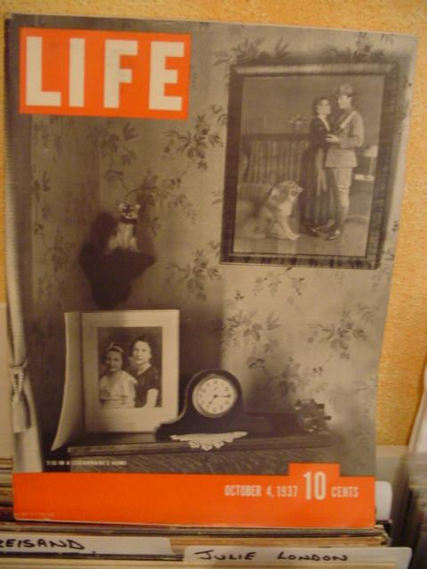 LIFE MAGAZINE - OCTOBER 4 1937 - LEGIONNAIRE'S HOME
