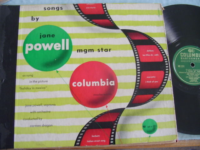 JANE POWELL - SONGS BY - COLUMBIA 2 DISC