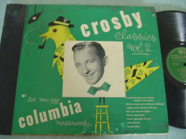 BING CROSBY - CROSBY CLASSICS - COLUMBIA 4 DISC SET