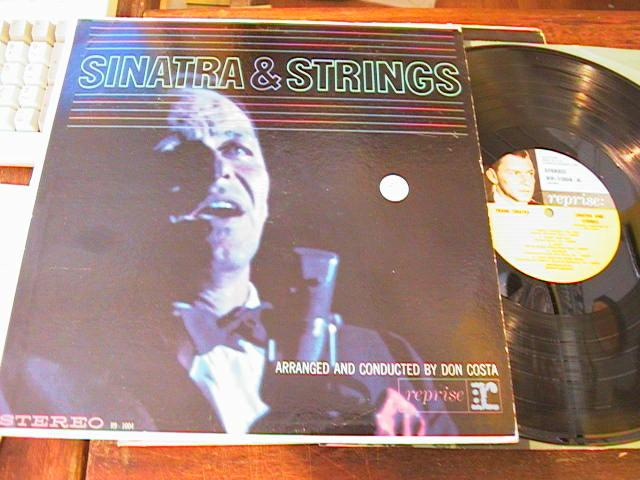 FRANK SINATRA - AND STRINGS - REPRISE - { 95