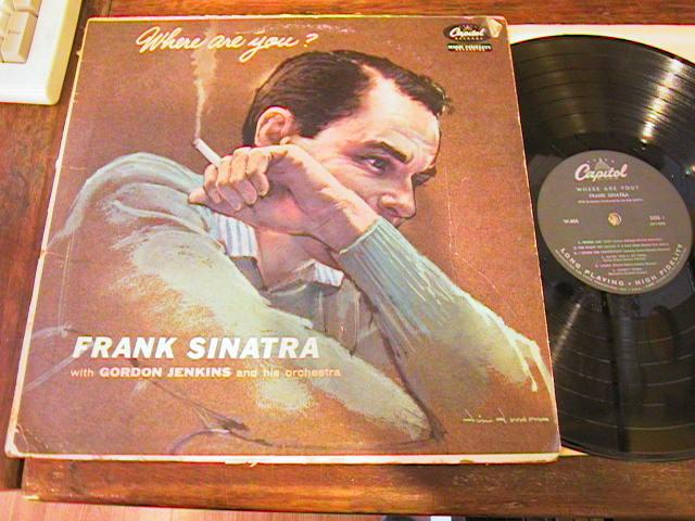 FRANK SINATRA - WHERE ARE YOU - CAPITOL - {88