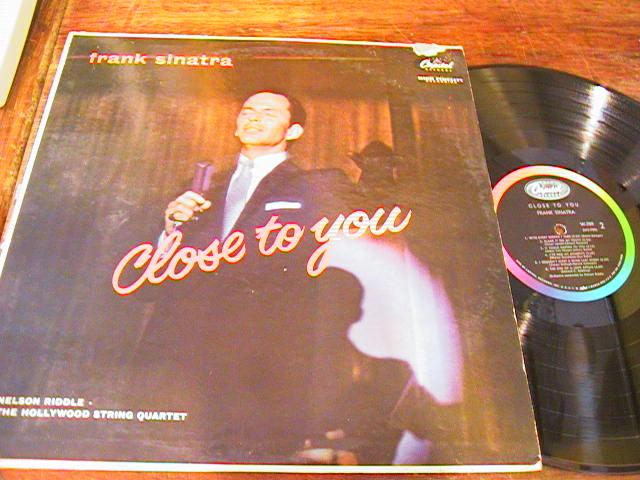 FRANK SINATRA - CLOSE TO YOU - - CAPITOL - { 87