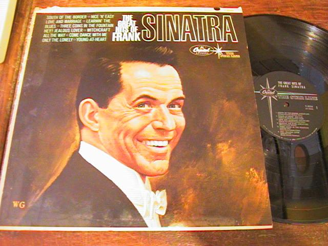 FRANK SINATRA - THE GREAT HITS - - CAPITOL - { 86