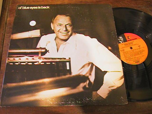 FRANK SINATRA - OL' BLUE EYES IS BACK - REPRISE - { 84
