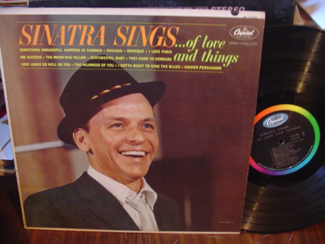 FRANK SINATRA - OF LOVE AND THINGS - CAPITOL [ 112