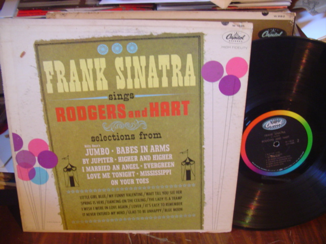 FRANK SINATRA - SINGS RODGERS and HART CAPITOL [ 113