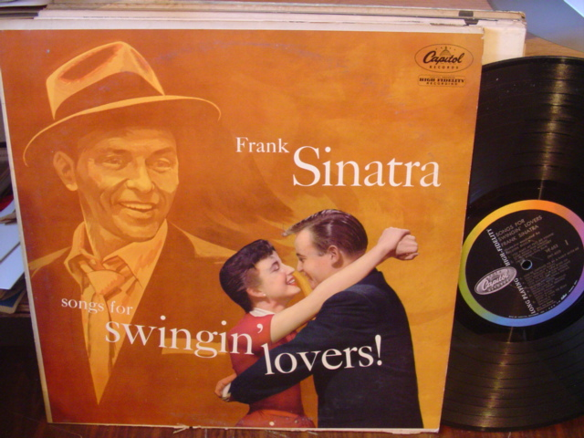 FRANK SINATRA - SONGS SWINGIN LOVERS - CAPITOL [ 119