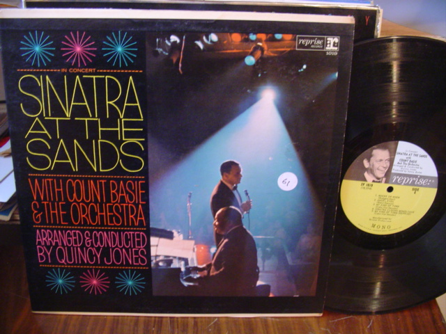 FRANK SINATRA COUNT BASIE - AT THE SANDS - 2 LP REPRISE [ 61