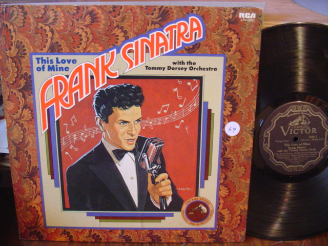 FRANK SINATRA TOMMY DORSEY - THIS LOVE OF MINE - RCA [ 69