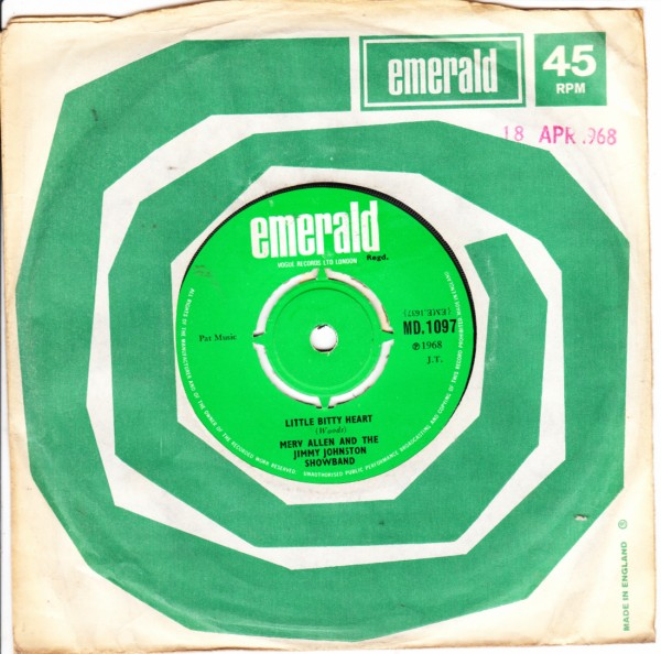 Emerald MD.1097 - Merv Allen & Jimmy Johnston Showband