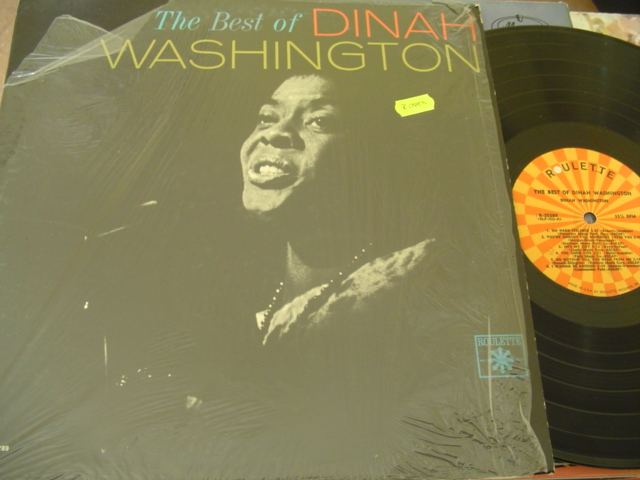 DINAH WASHINGTON - THE BEST OF - ROULETTE { J 1200