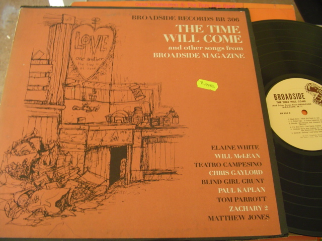 VARIOUS - THE TIME WILL COME - BROADSIDE BR 306