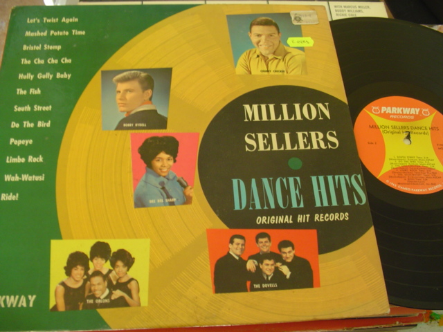 VARIOUS - MILLION SELLERS DANCE HITS - PARKWAY 7028