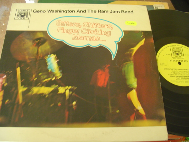GENO WASHINGTON - SIFTERS SHIFTERS - MARBLE ARCH