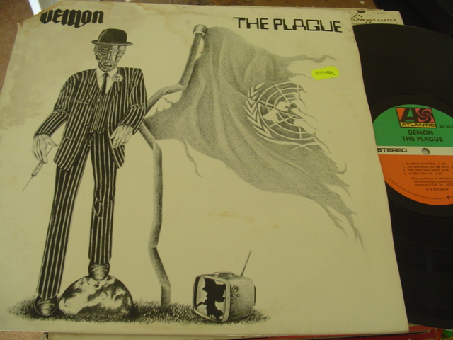 DAMON - THE PLAGUE - ATLANTIC TECORDS PROMO