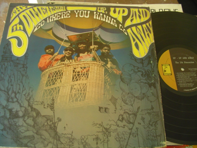 5 th DIMENSION - UP UP & AWAY - SOUL CITY { J 1190