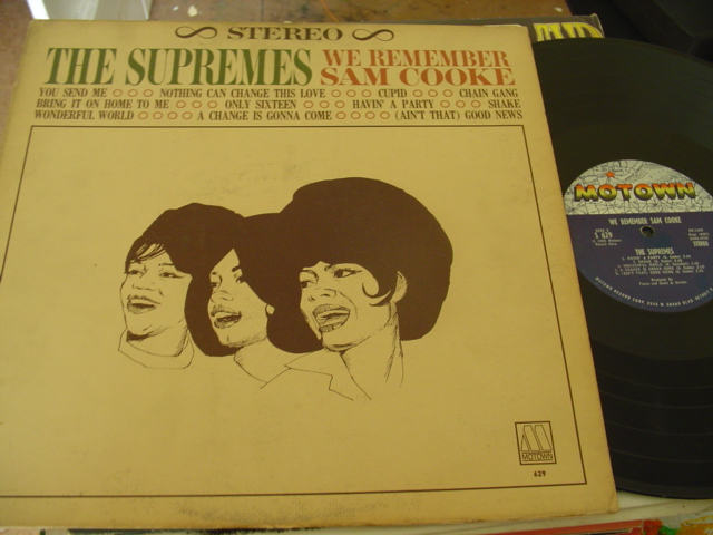 THE SUPREMES - REMEMBER SAM COOKE - MOTOWN